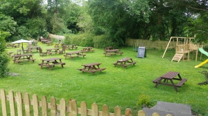 The Cherry Tree Inn Beer Garden