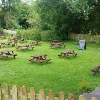The Cherry Tree Inn Beer Garden